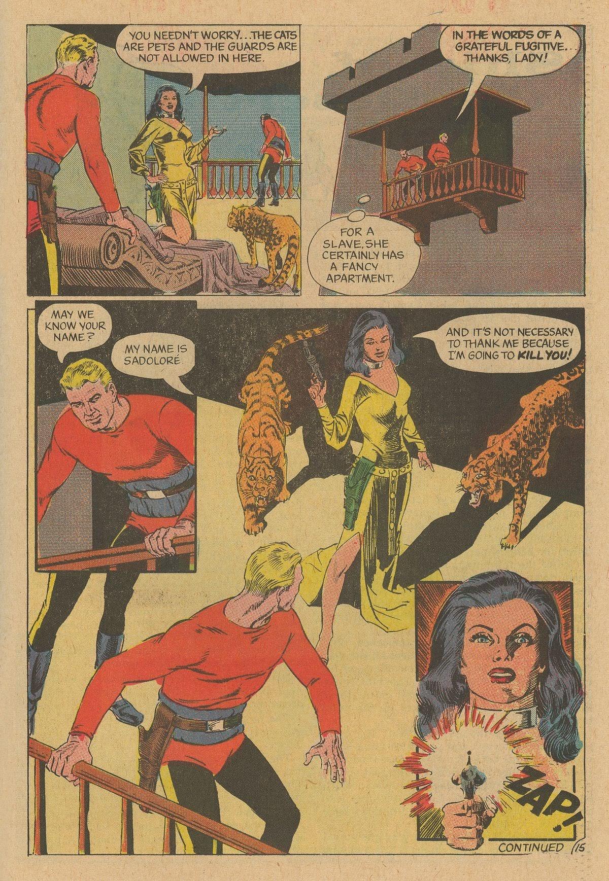 Flash Gordon (1969) issue 12 - Page 19