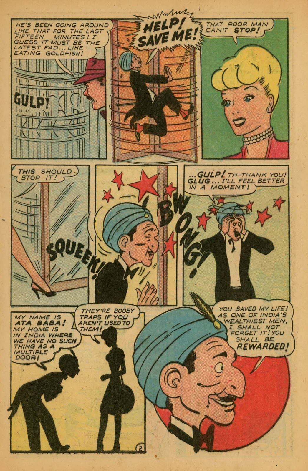 Read online Millie the Model comic -  Issue #7 - 11