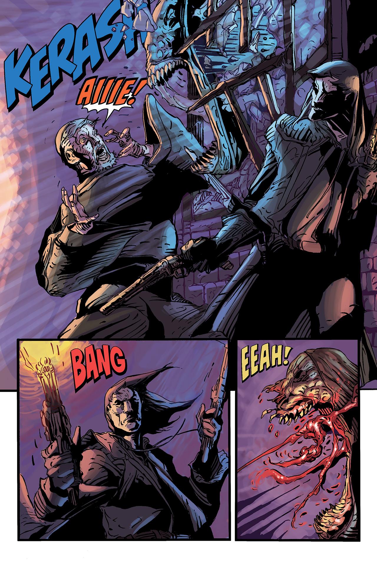 Read online Solomon Kane: Death's Black Riders comic -  Issue #3 - 6