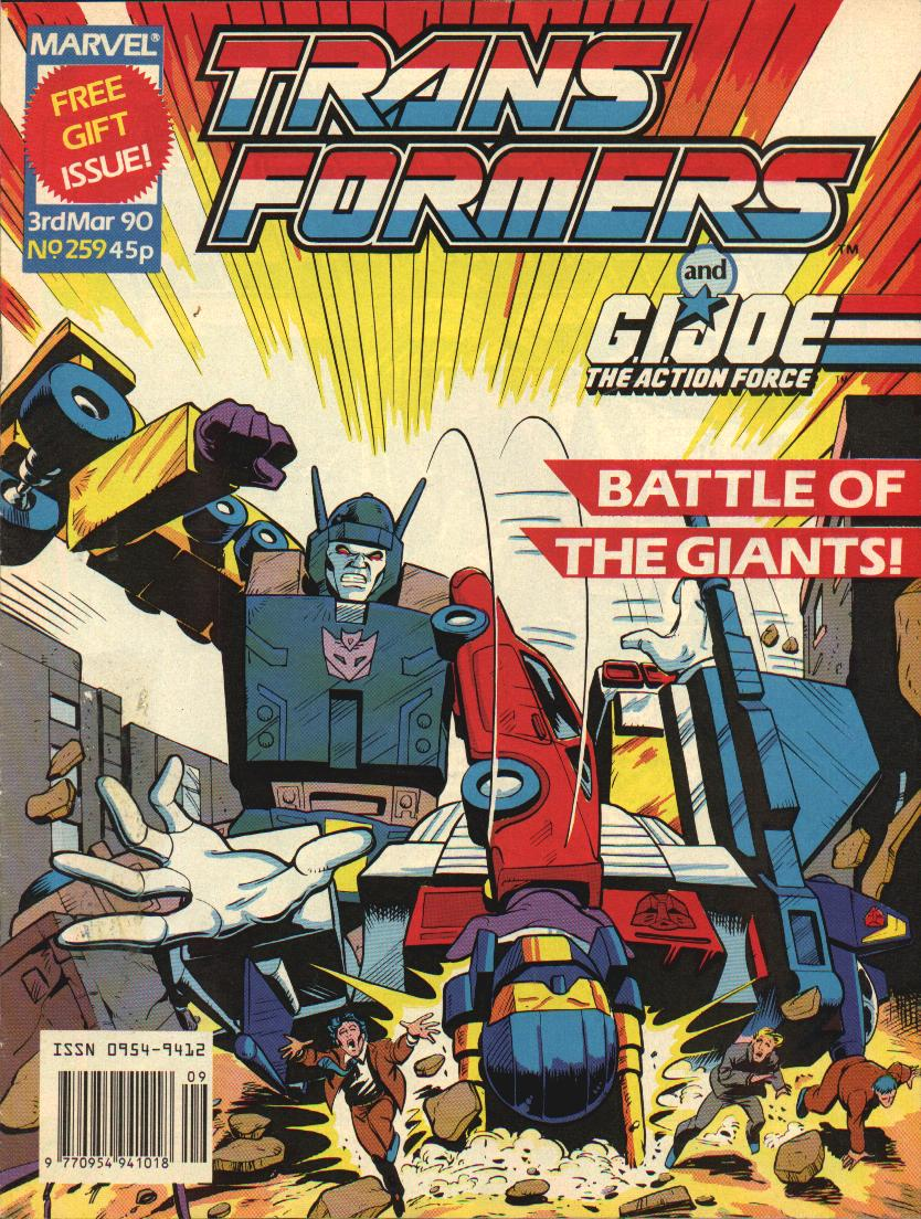 The Transformers (UK) 259 Page 1
