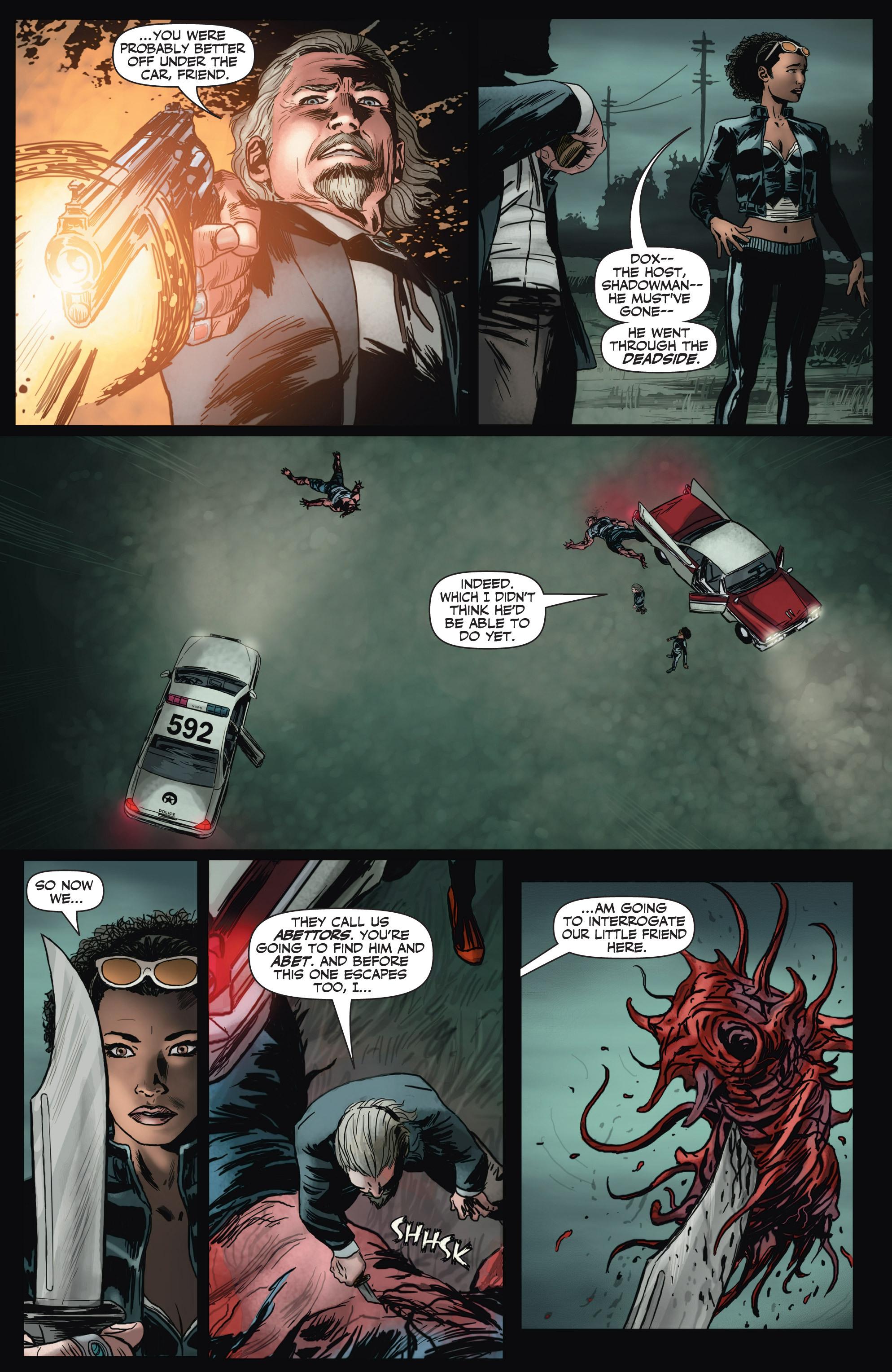 Read online Shadowman (2012) comic -  Issue #2 - 9