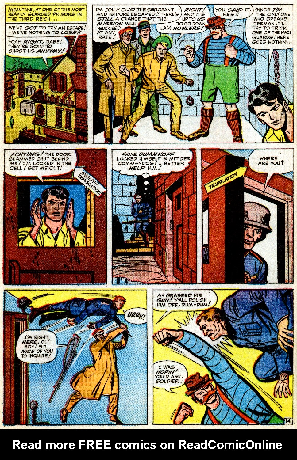 Read online Sgt. Fury comic -  Issue #9 - 20