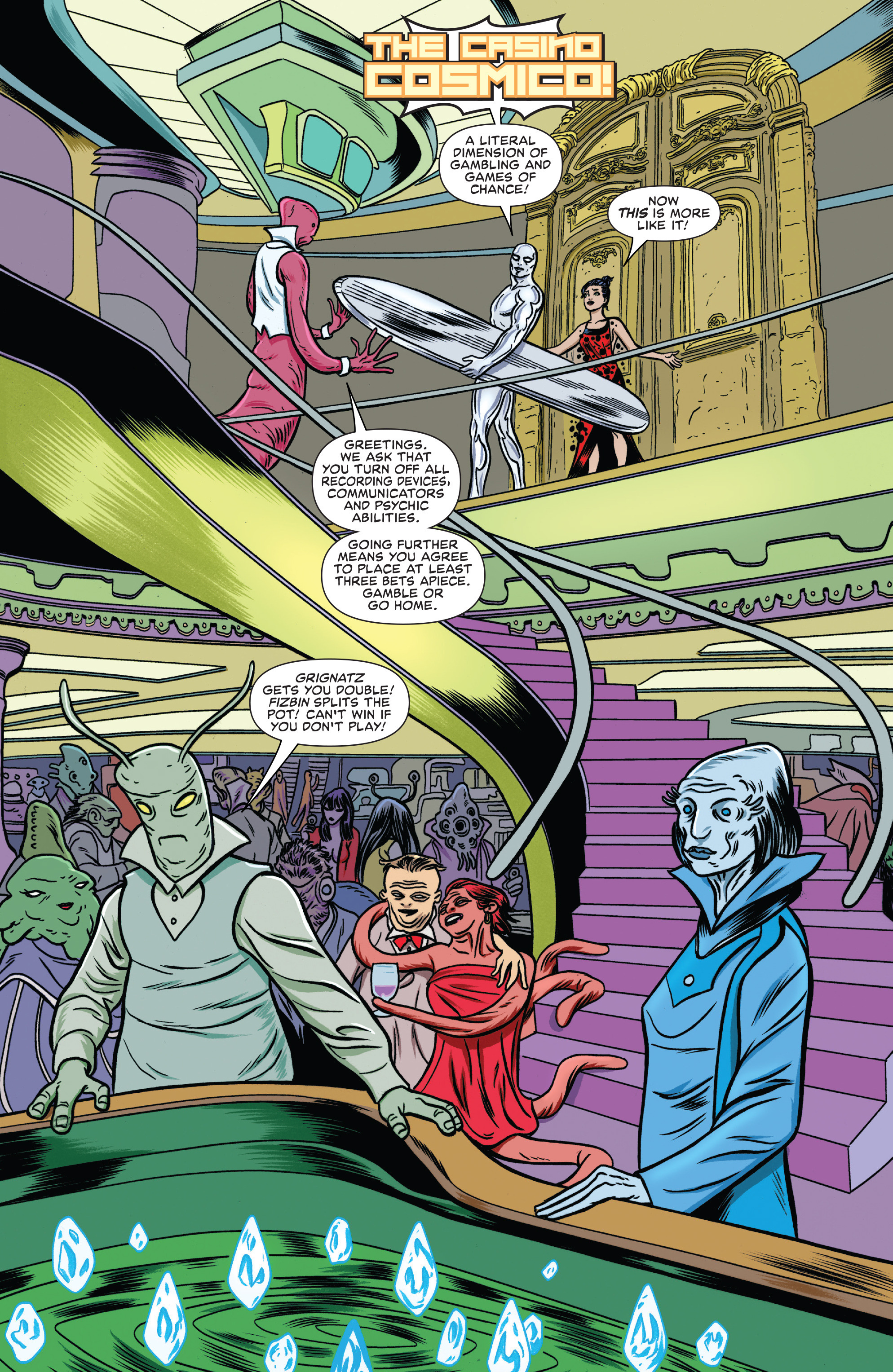 Read online Silver Surfer (2016) comic -  Issue #7 - 9