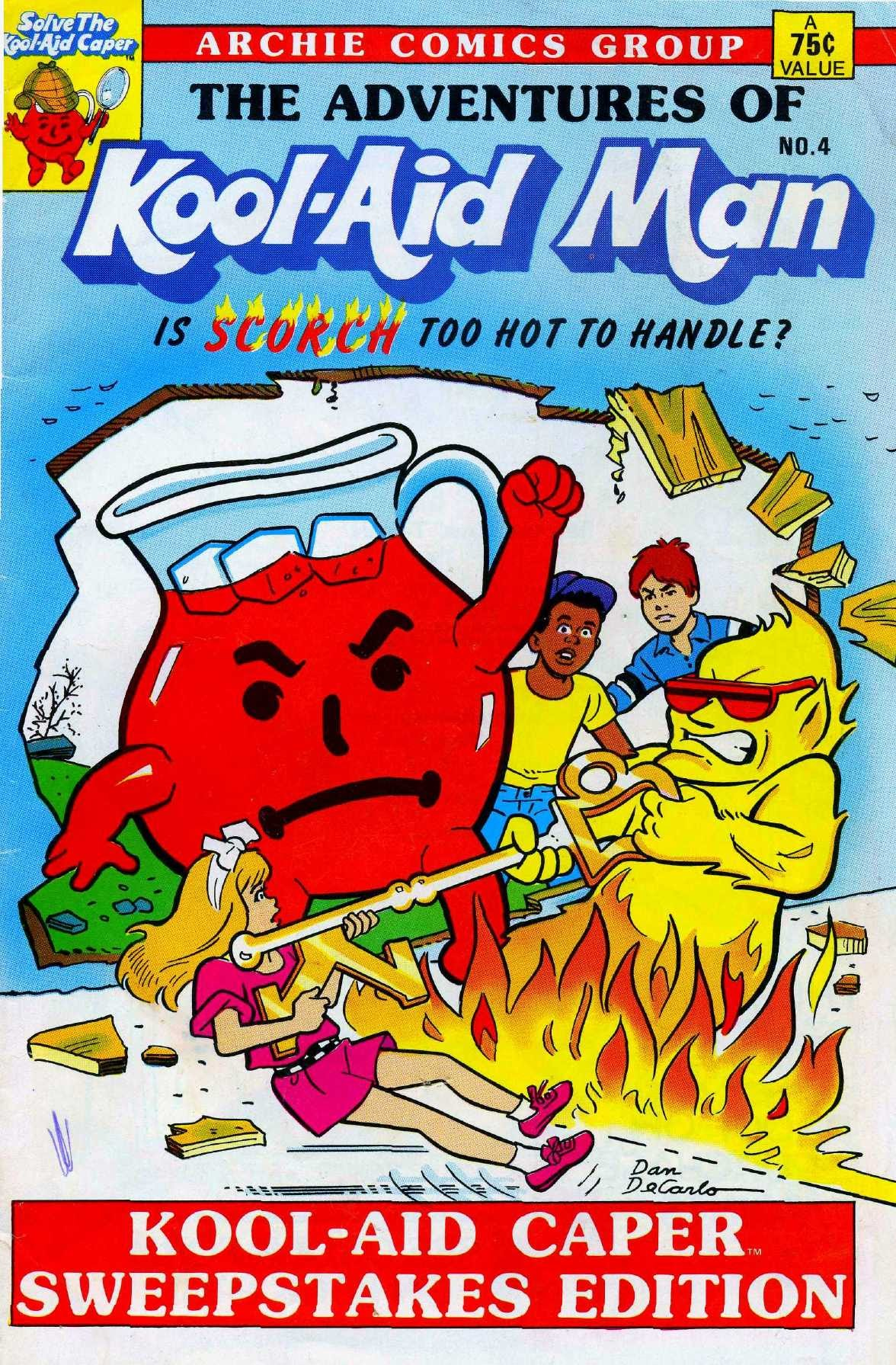 The Adventures of Kool-Aid Man 4 Page 1