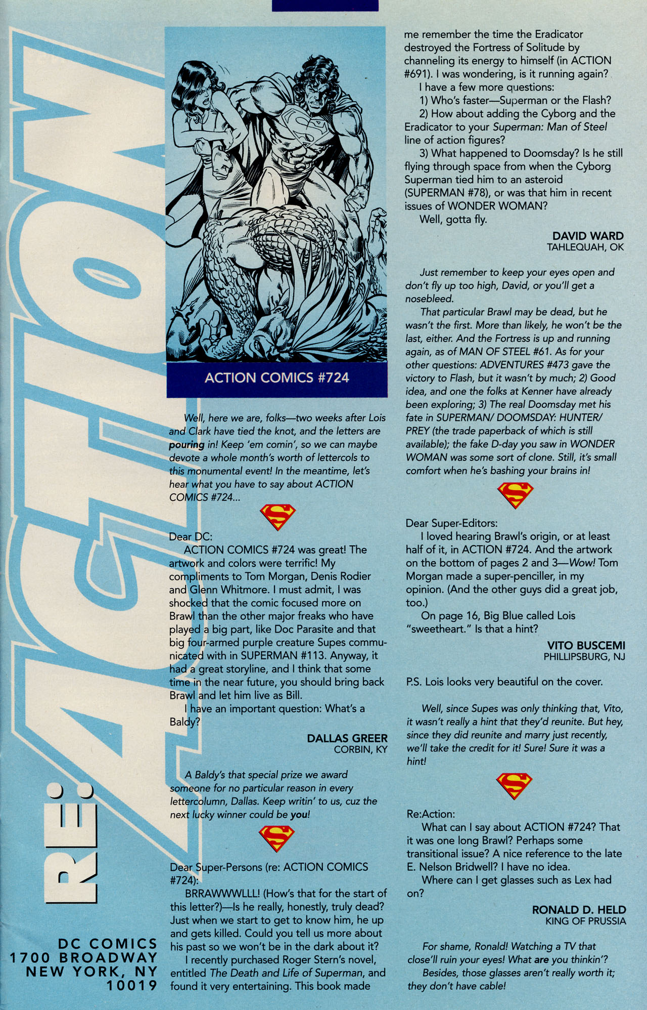 Read online Action Comics (1938) comic -  Issue #728 - 30