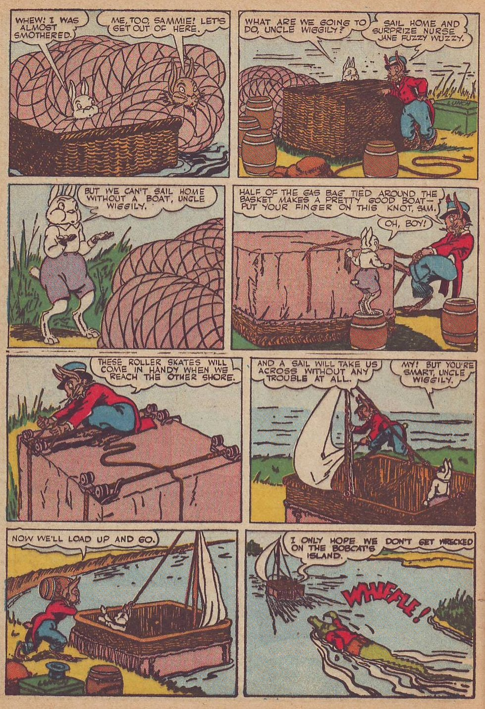 Read online Animal Comics comic -  Issue #23 - 22