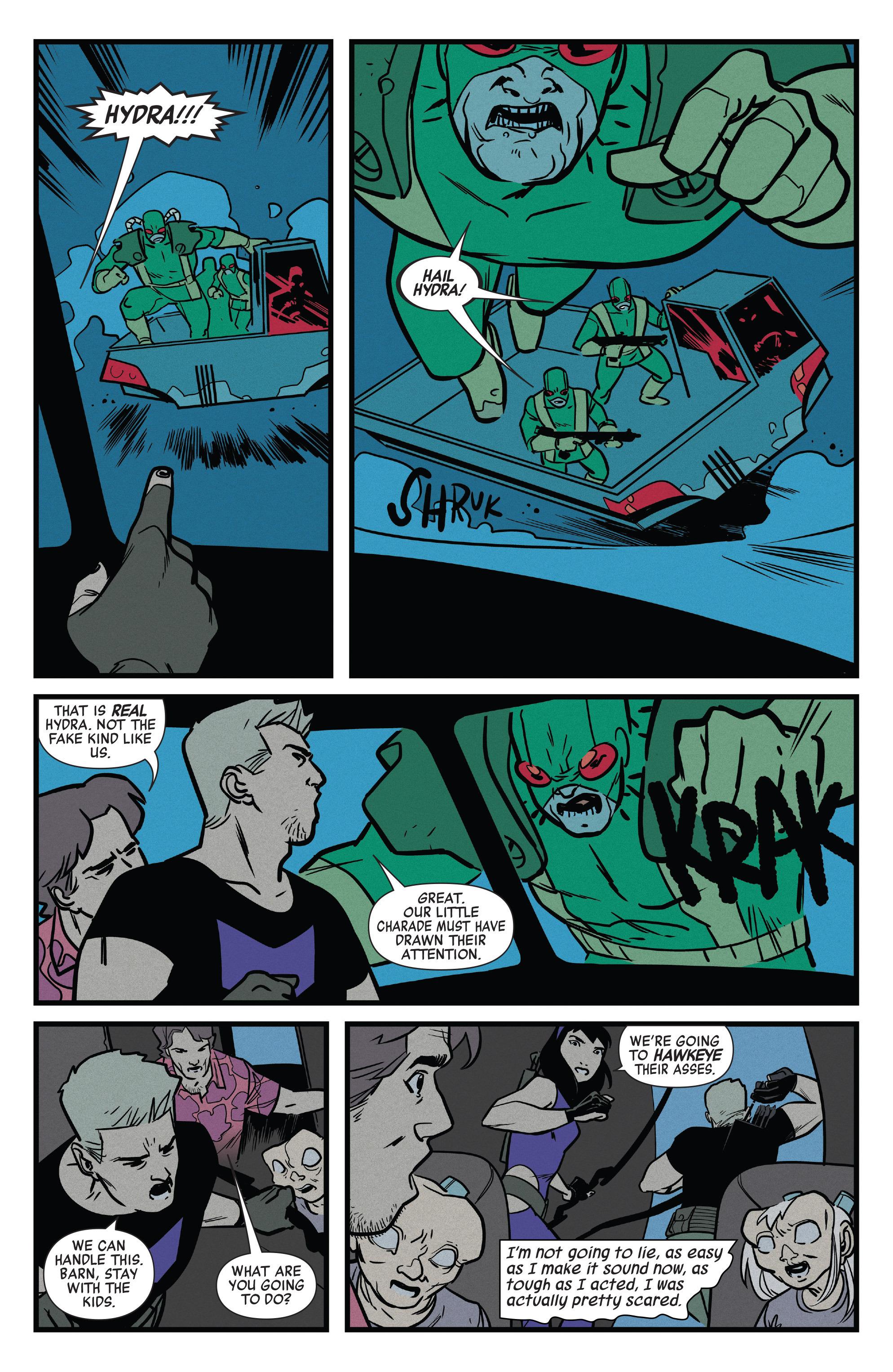 Read online All-New Hawkeye (2016) comic -  Issue #6 - 7
