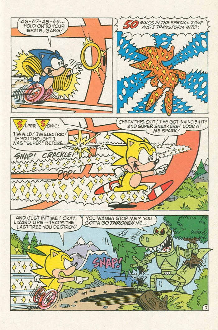 Read online Sonic Super Special comic -  Issue #3 - Sonic Firsts - 34
