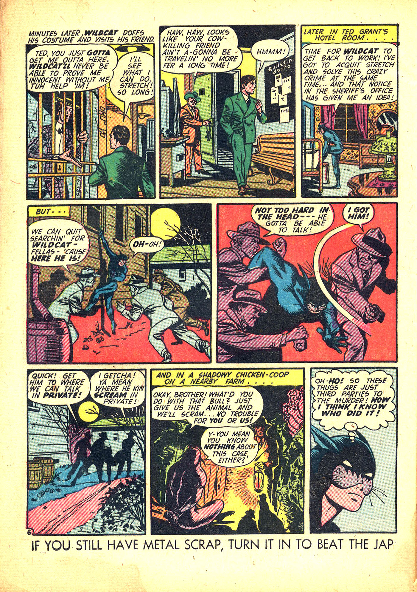Read online Sensation (Mystery) Comics comic -  Issue #31 - 54
