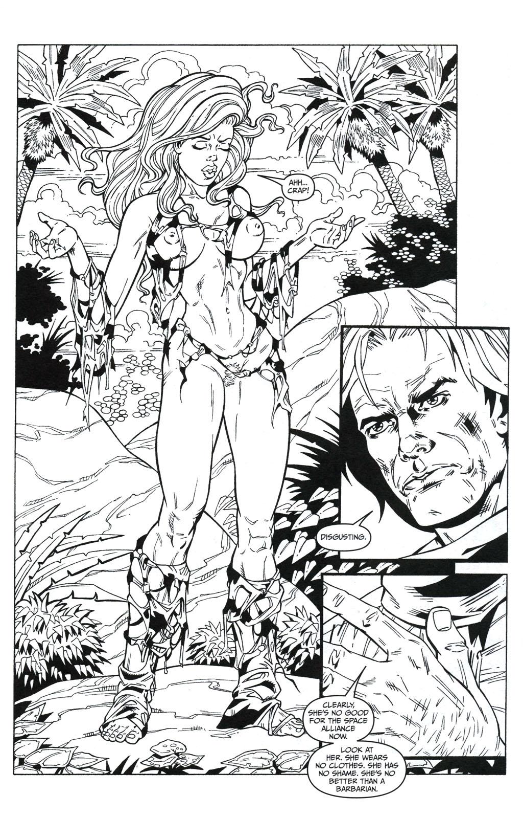 Read online Jungle Fantasy (2002) comic -  Issue #5 - 12