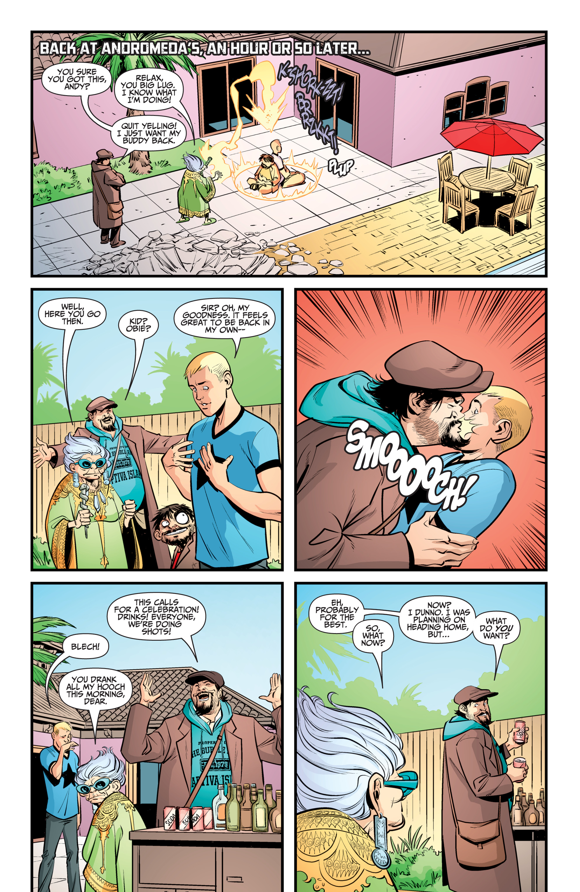 Read online A&A: The Adventures of Archer & Armstrong comic -  Issue #12 - 18
