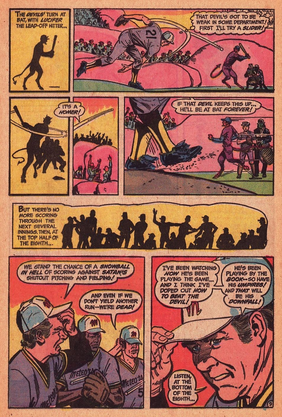 Read online Strange Sports Stories (1973) comic -  Issue #1 - 10