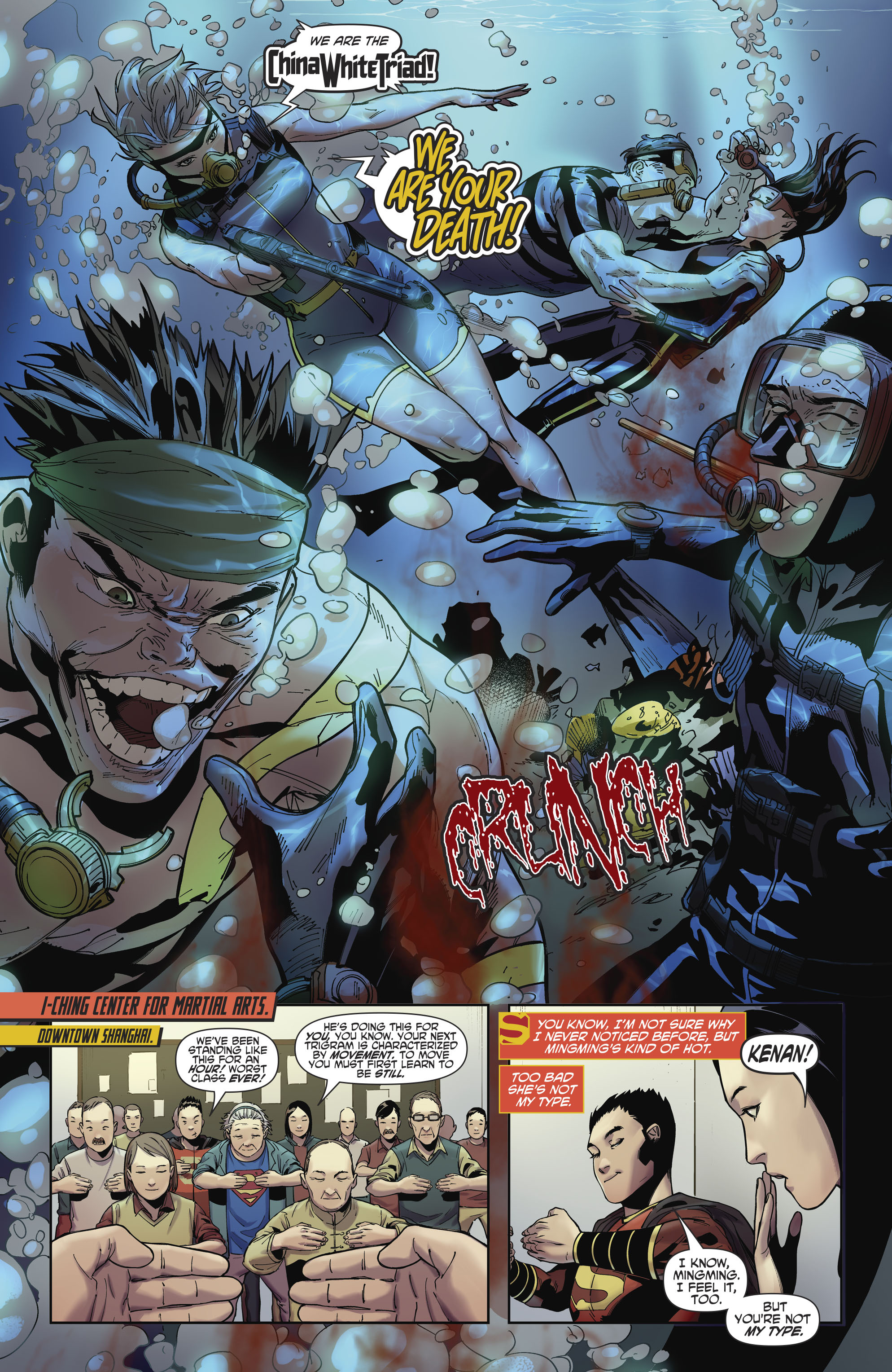 Read online New Super-Man comic -  Issue #11 - 5