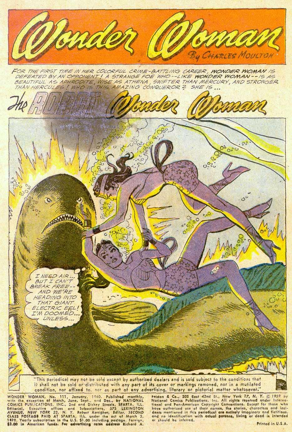 Read online Wonder Woman (1942) comic -  Issue #111 - 3