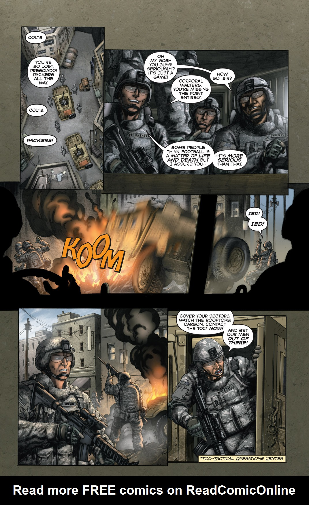 Read online America's Army comic -  Issue #13 - 12