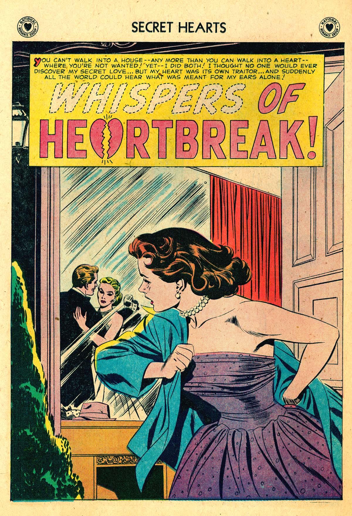 Read online Secret Hearts comic -  Issue #52 - 26