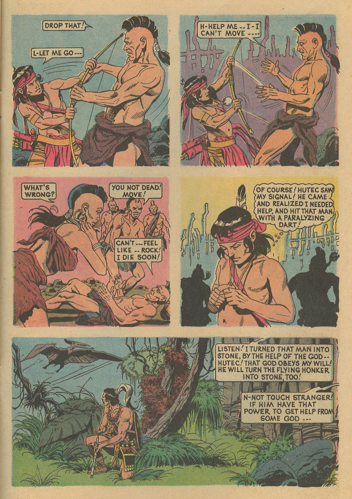 Read online Turok, Son of Stone comic -  Issue #86 - 25