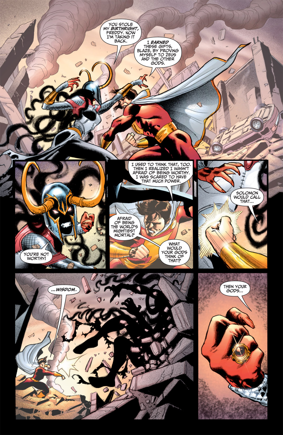 Read online Shazam! (2011) comic -  Issue #1 - 12
