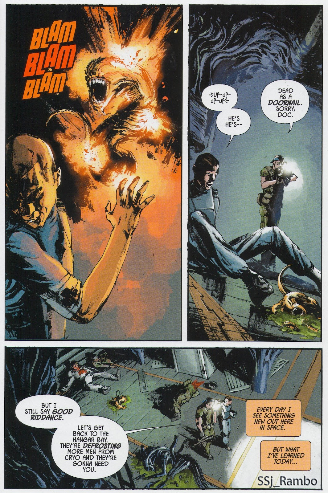 Read online Aliens: Colonial Marines - No Man Left Behind comic -  Issue # Full - 12