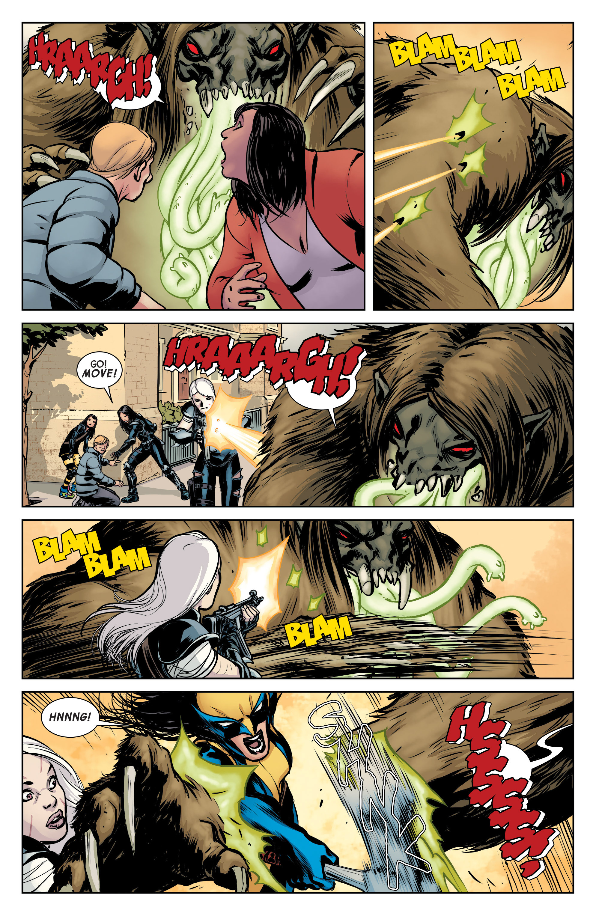 Read online All-New Wolverine (2016) comic -  Issue #4 - 12