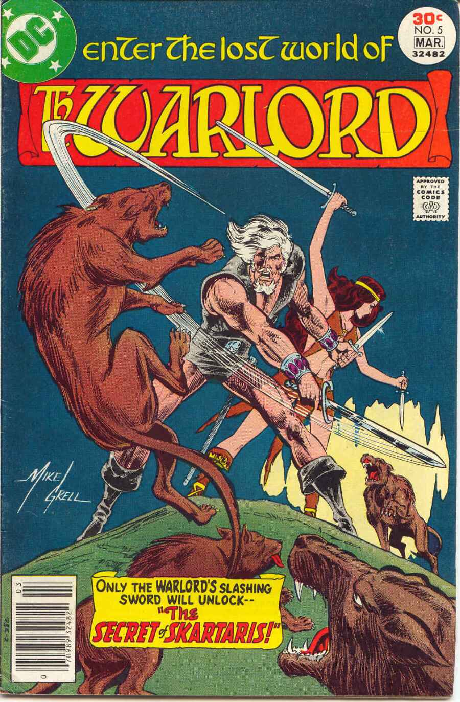 Warlord (1976) 5 Page 1