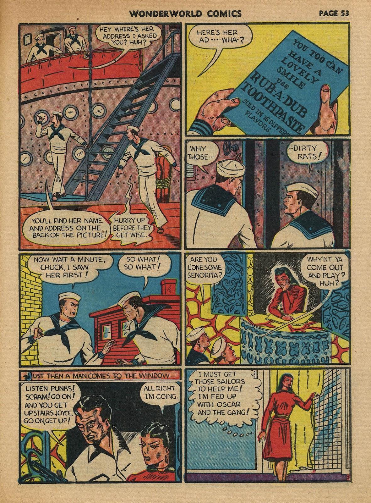 Wonderworld Comics issue 23 - Page 54