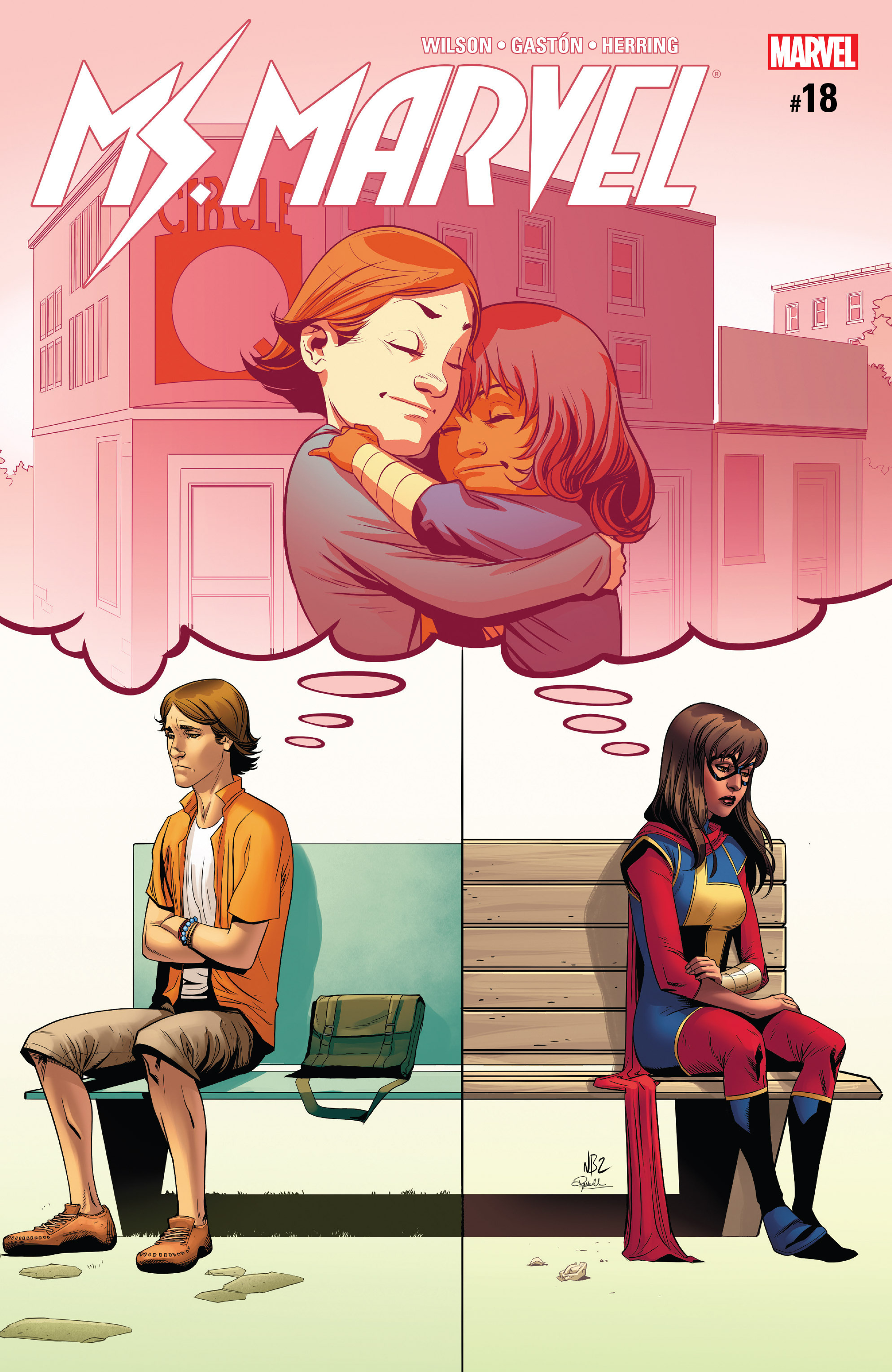 Read online Ms. Marvel (2016) comic -  Issue #18 - 1