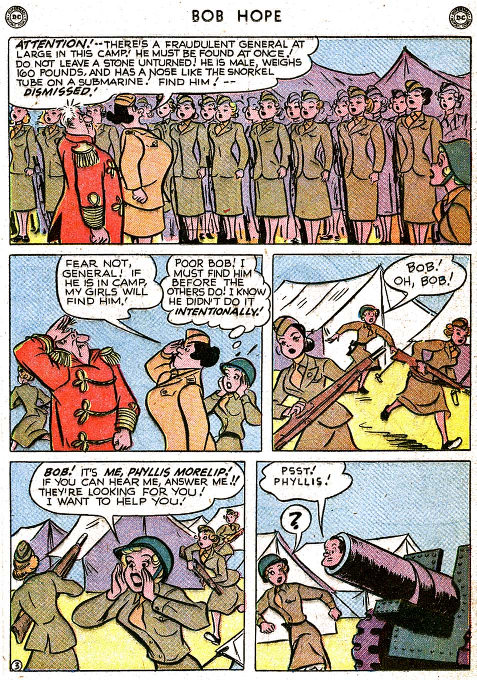 The Adventures of Bob Hope issue 8 - Page 17