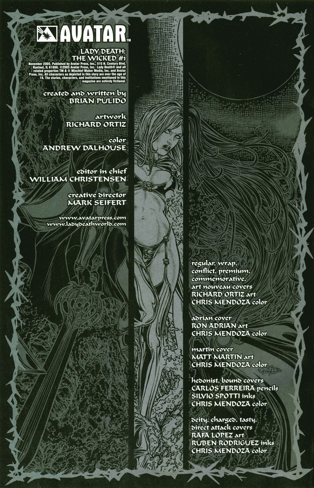 Read online Lady Death: The Wicked comic -  Issue #1 - 10