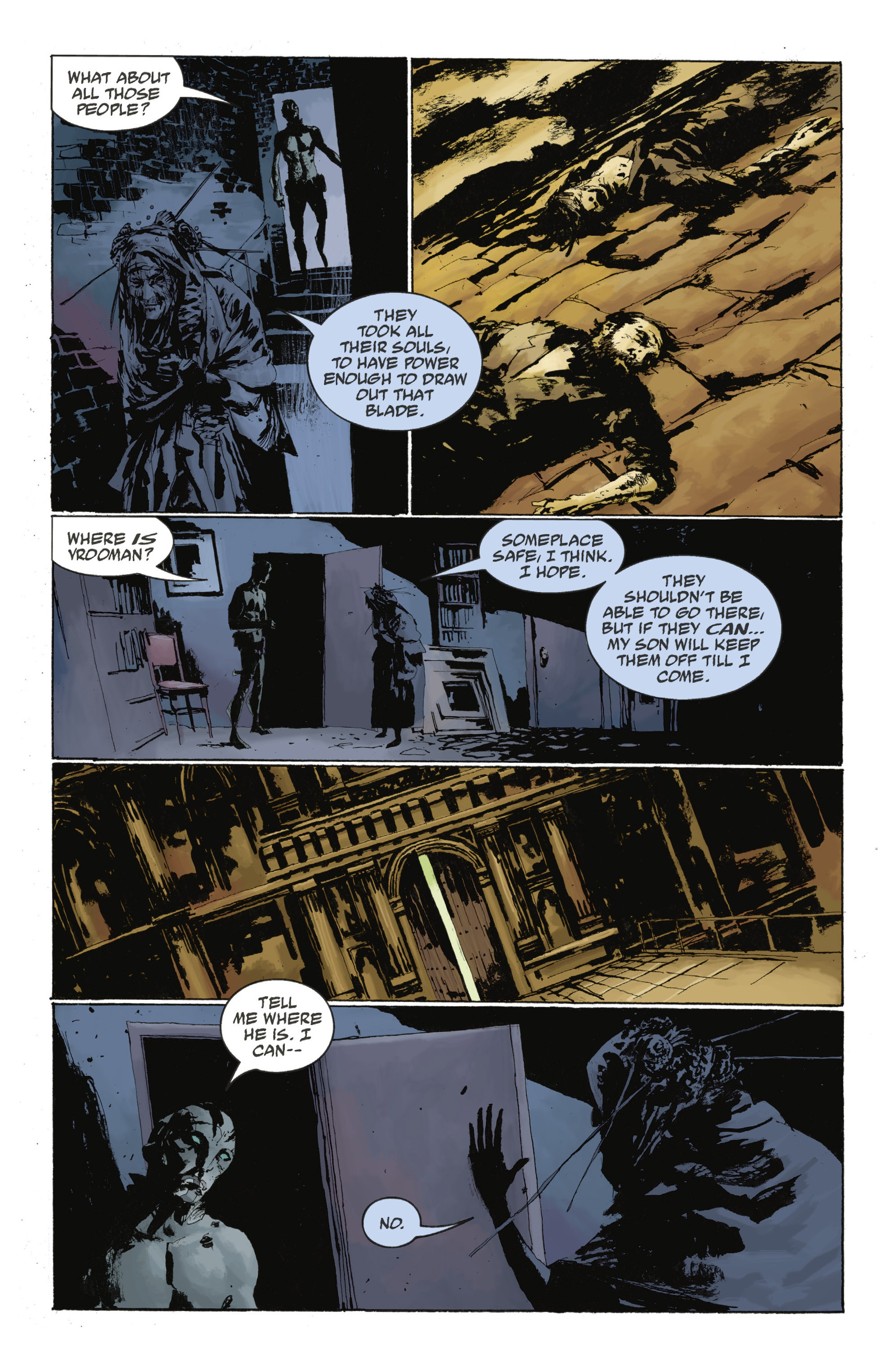 Read online Abe Sapien: The Drowning comic -  Issue #Abe Sapien: The Drowning _TPB - 107