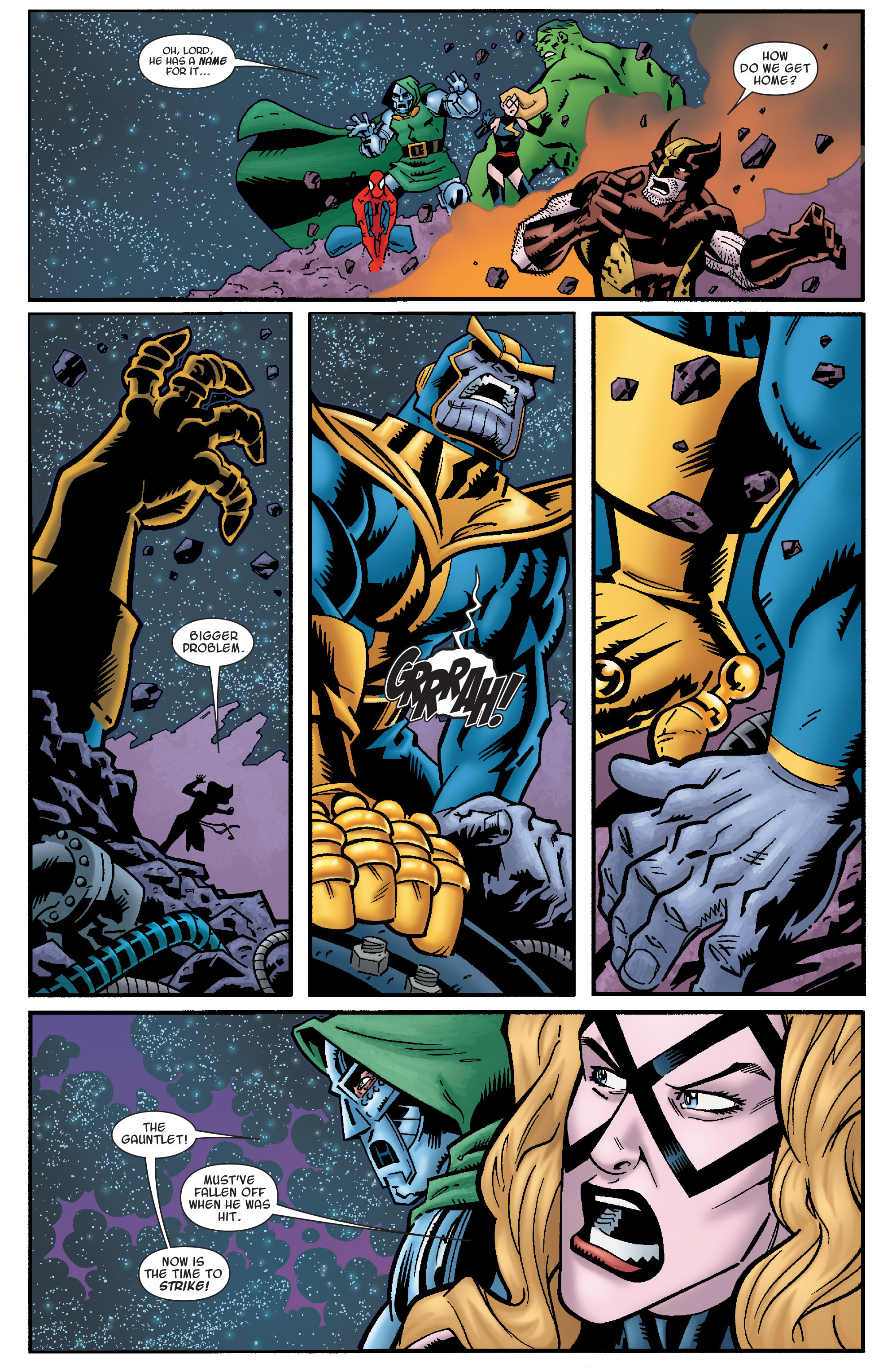 Read online Avengers & the Infinity Gauntlet comic -  Issue #4 - 7