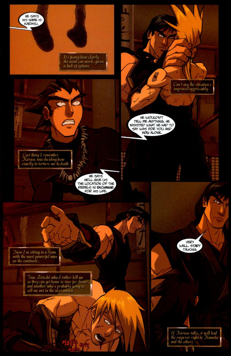 Read online Shidima comic -  Issue #4 - 3
