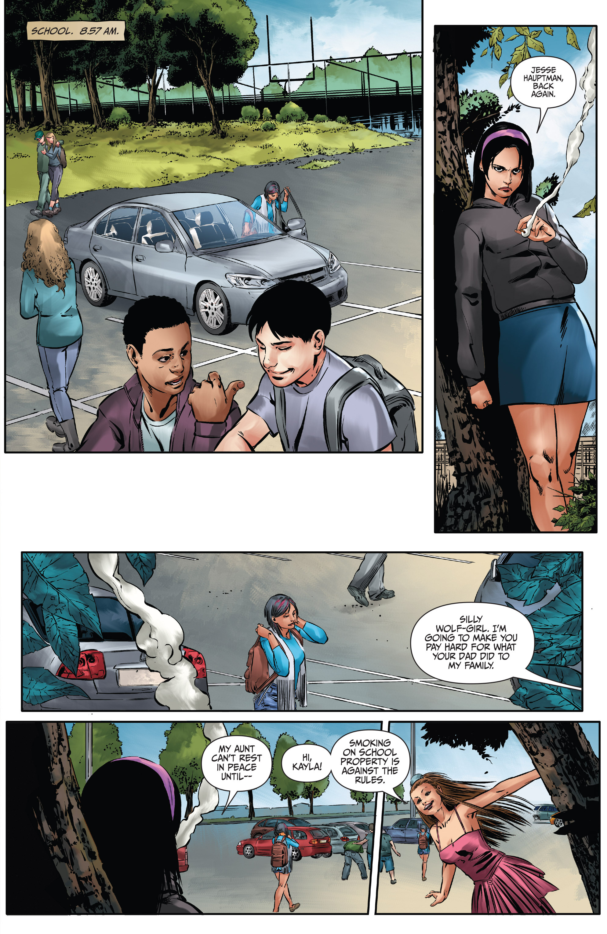 Read online Mercy Thompson comic -  Issue #3 - 5