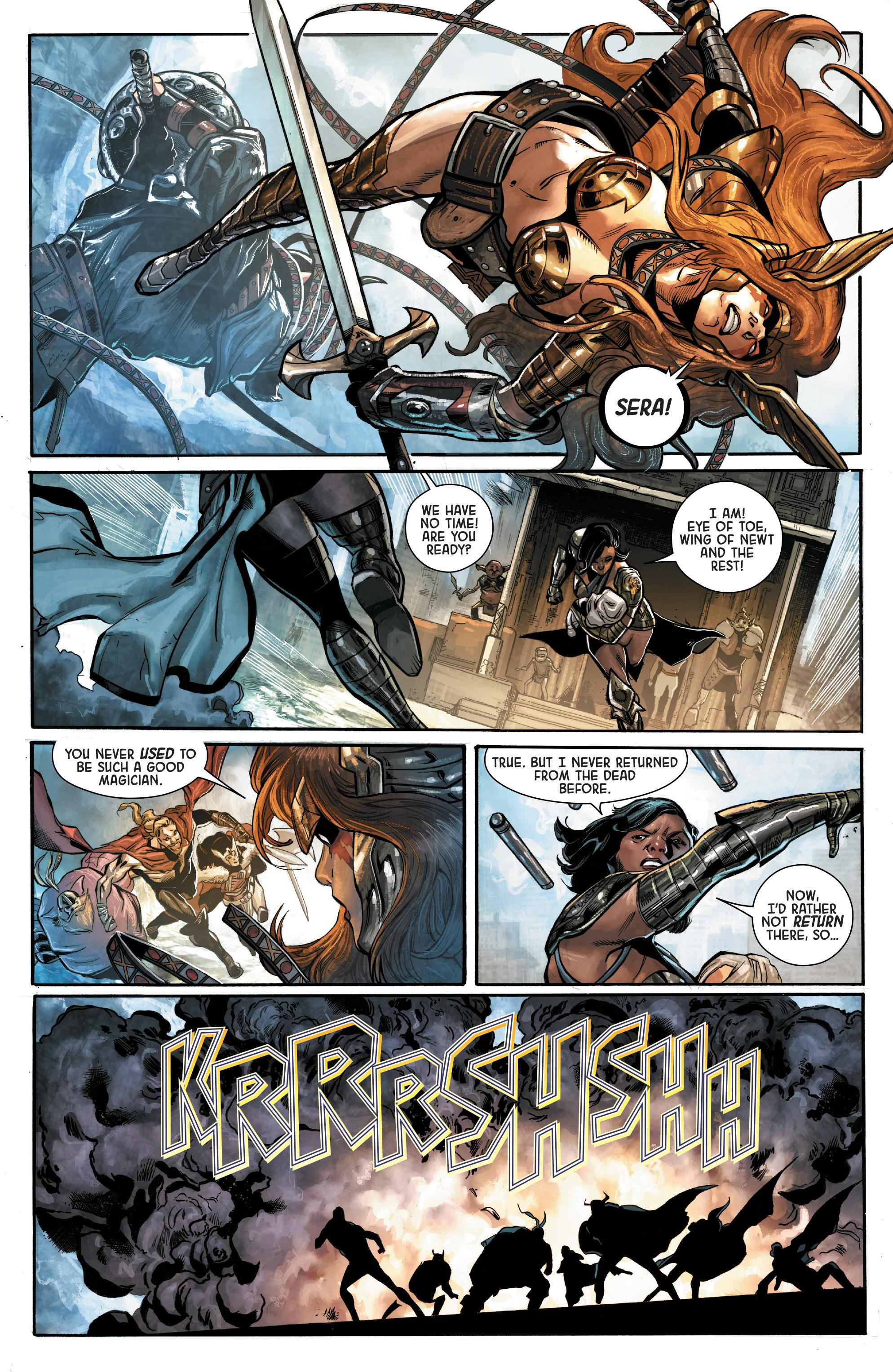 Read online Angela: Asgard's Assassin comic -  Issue #2 - 12