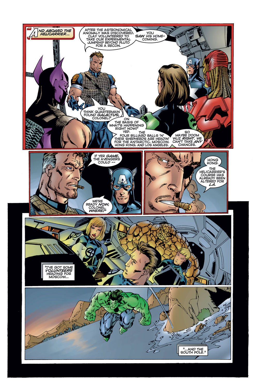 Read online Avengers (1996) comic -  Issue #12 - 9