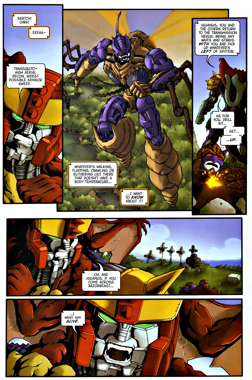 Read online Transformers, Beast Wars: The Gathering comic -  Issue #1 - 20