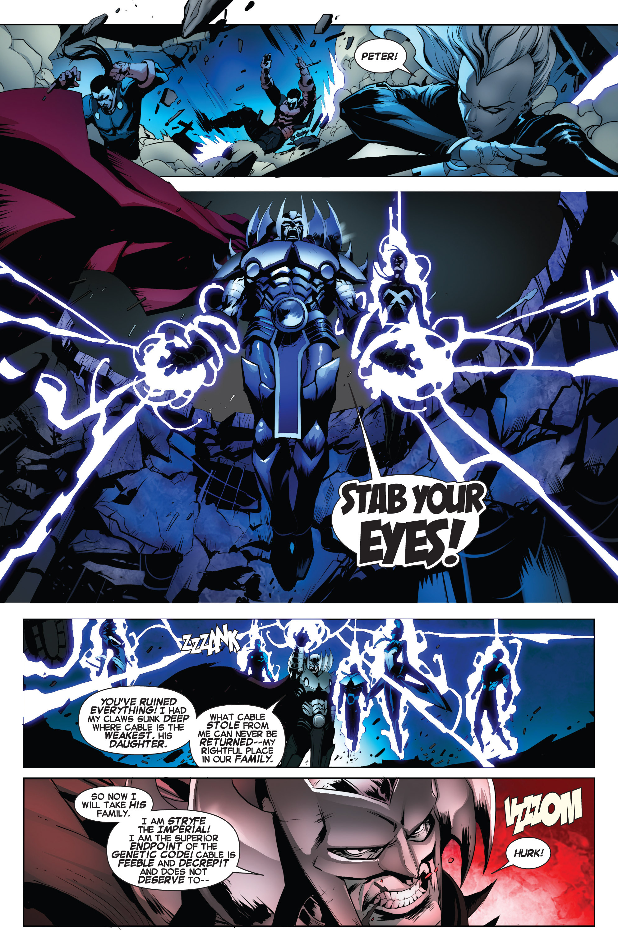 Read online Uncanny X-Force (2013) comic -  Issue #17 - 13