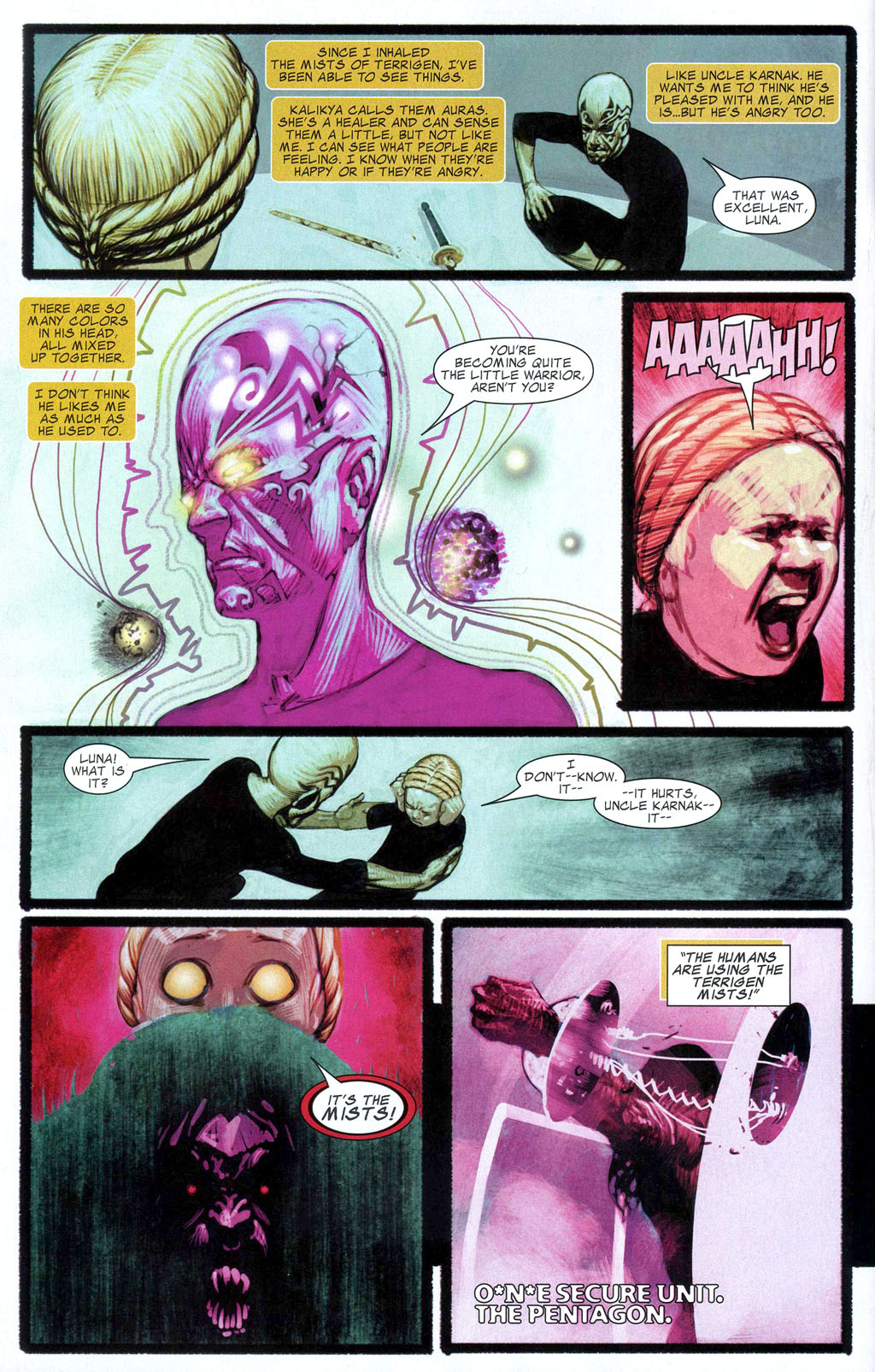 Read online Silent War comic -  Issue #2 - 6