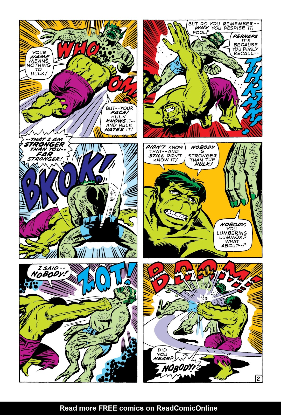 Read online Marvel Masterworks: The Incredible Hulk comic -  Issue # TPB 7 (Part 1) - 49