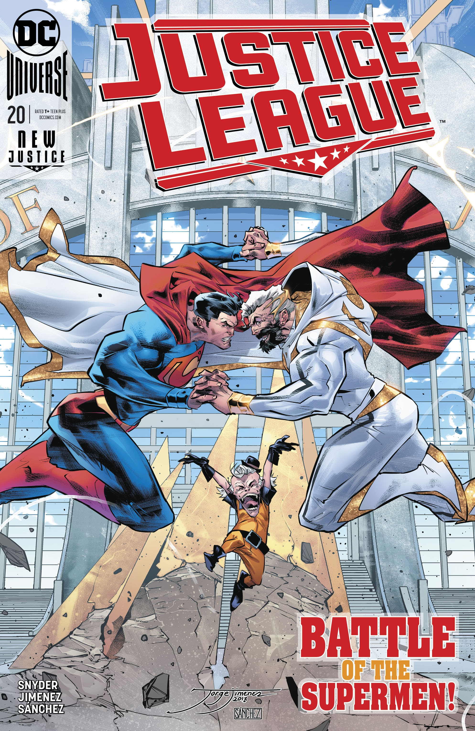 Justice League (2018) 20 Page 1