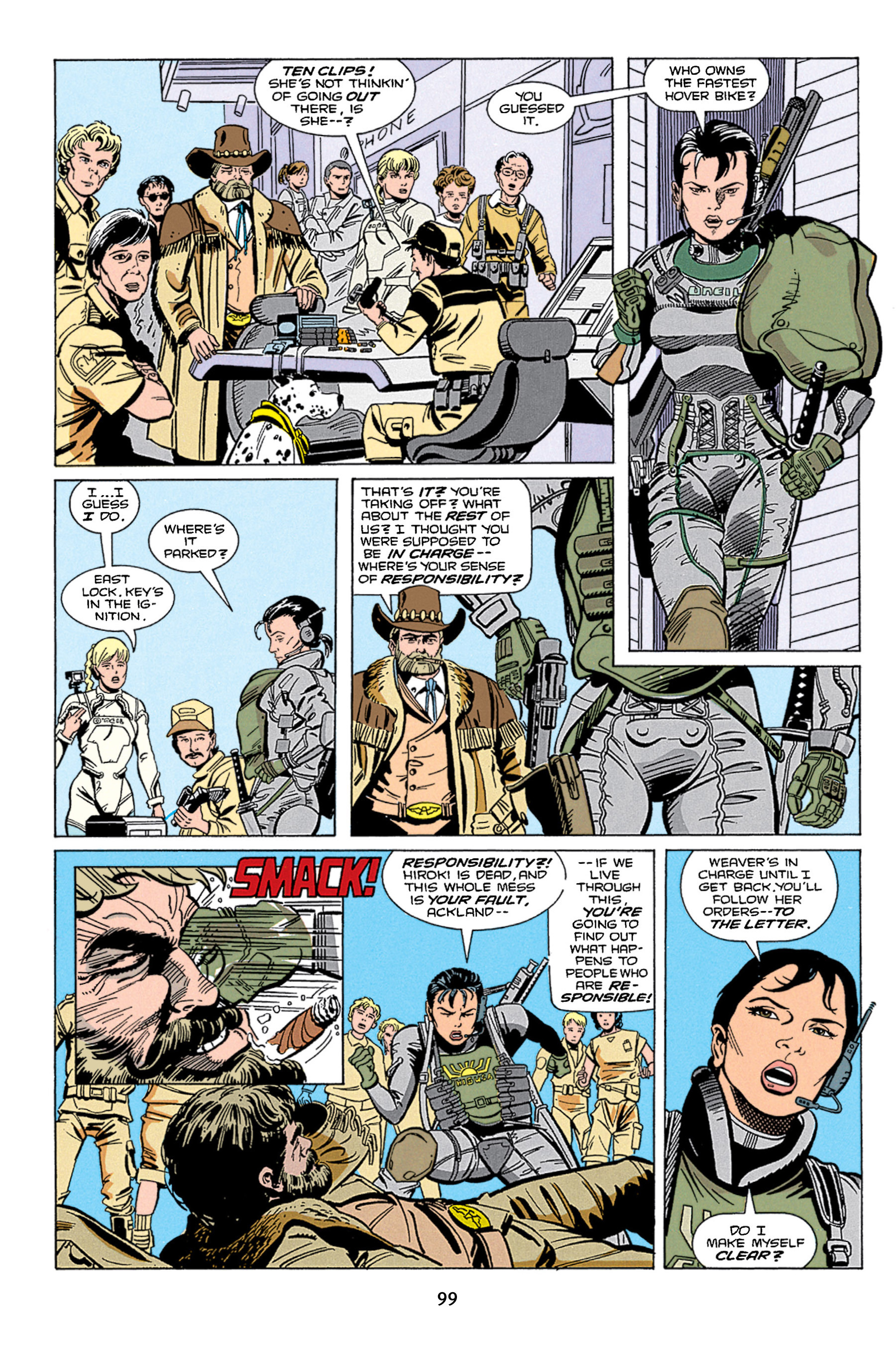 Read online Aliens vs. Predator Omnibus comic -  Issue # _TPB 1 Part 1 - 99