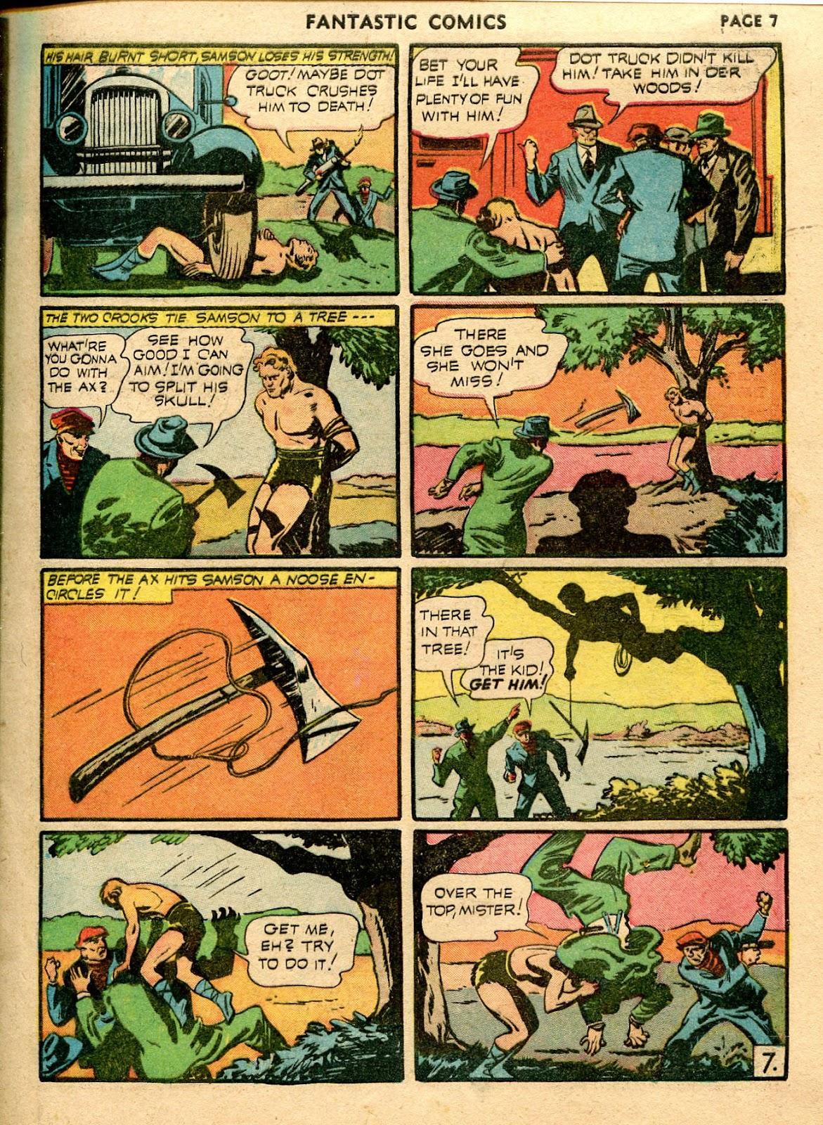 Read online Fantastic Comics comic -  Issue #21 - 9