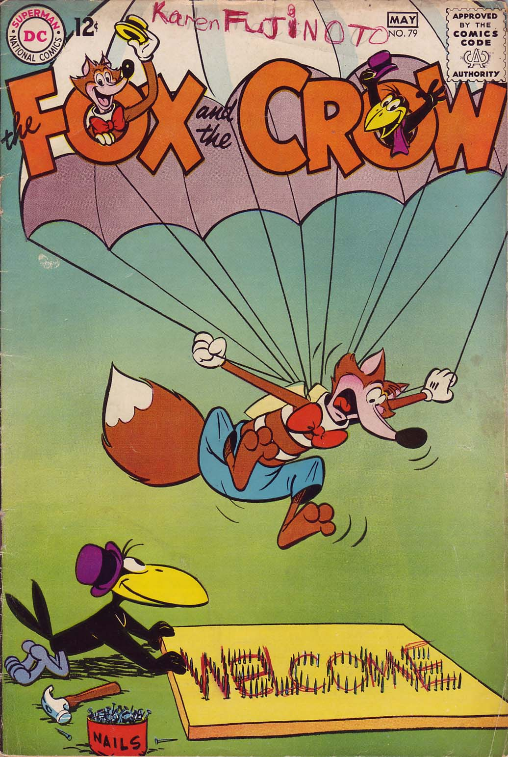 The Fox and the Crow issue 79 - Page 1