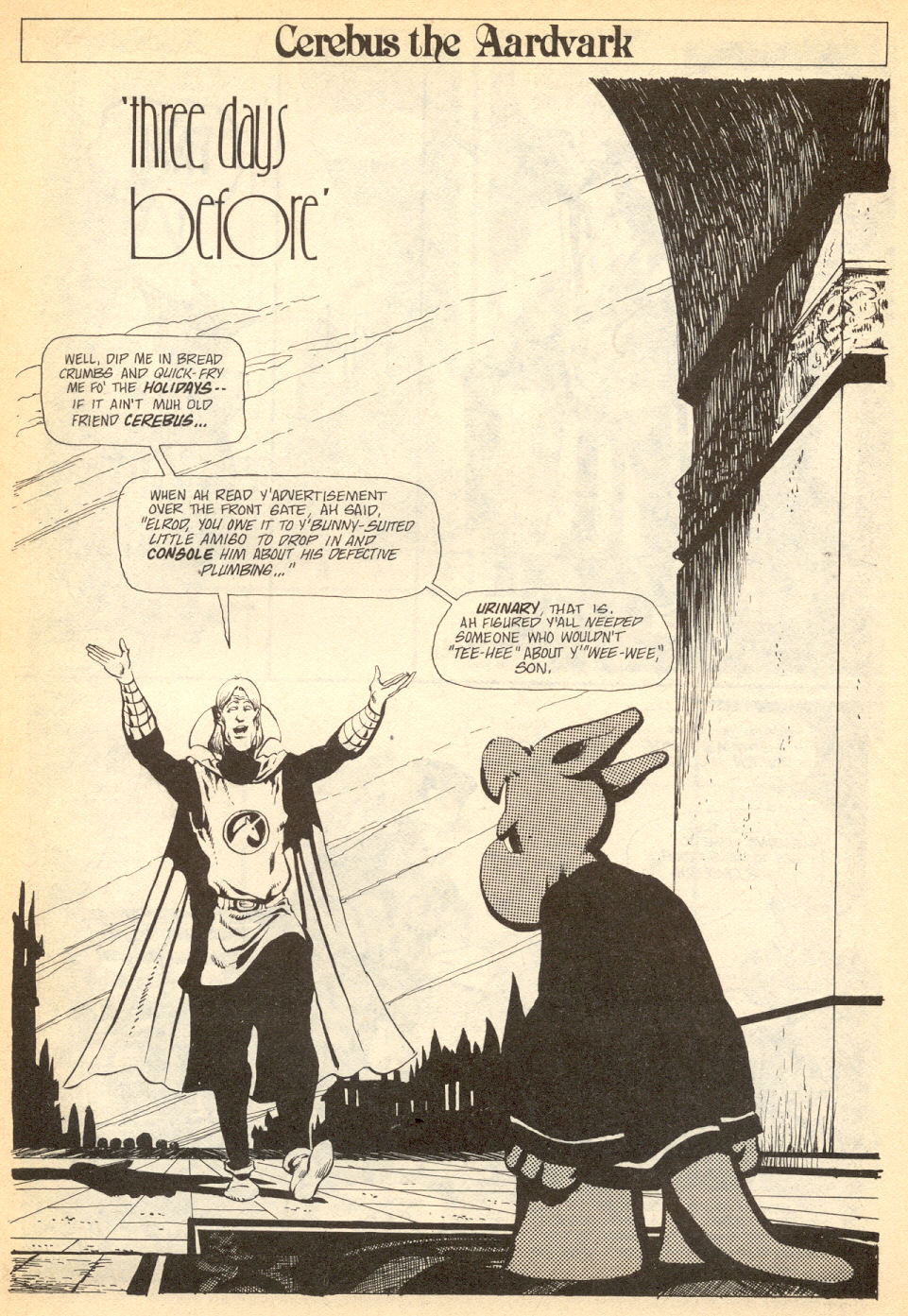 Cerebus Issue #34 #34 - English 4
