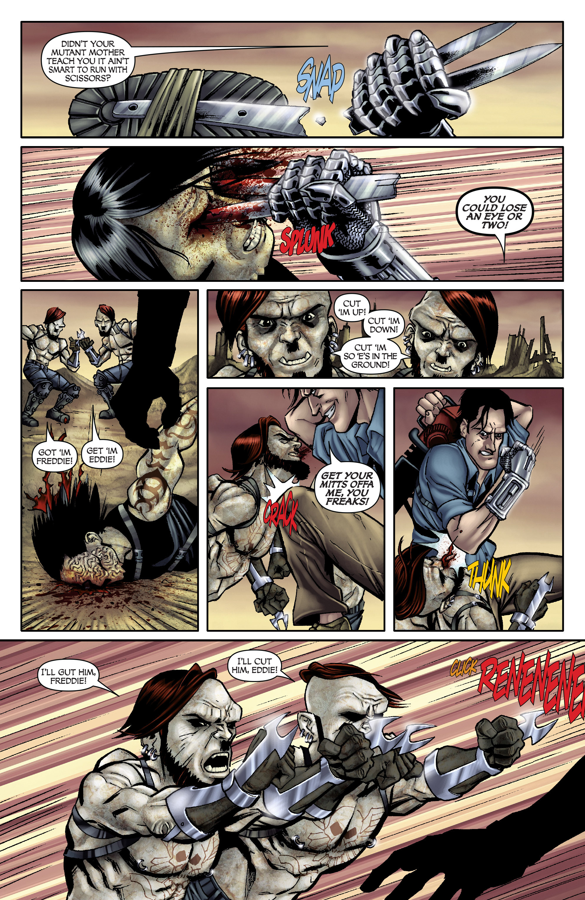 Read online Army of Darkness: From the Ashes comic -  Issue #Army of Darkness: From the Ashes TPB - 18