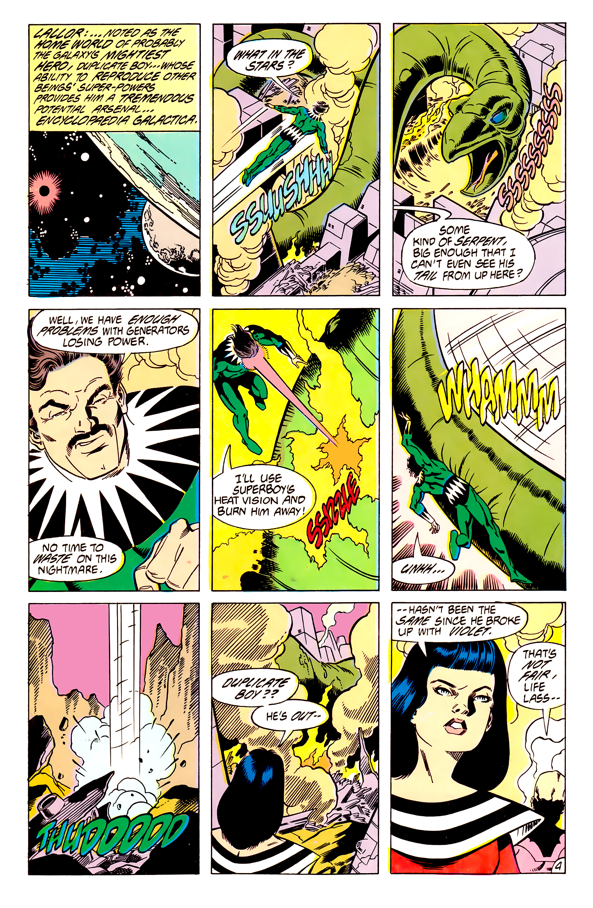 Legion of Super-Heroes (1984) 62 Page 4