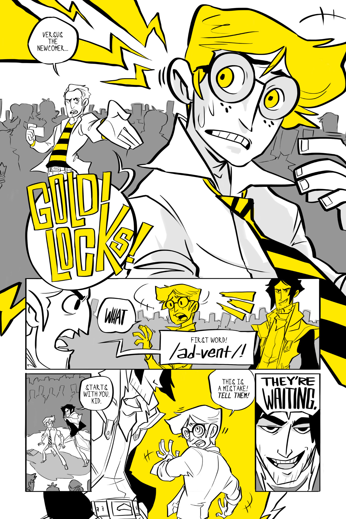Read online BUZZ! comic -  Issue # TPB - 19