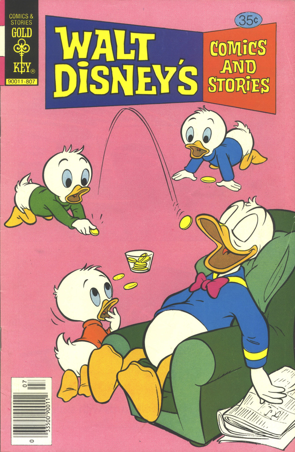 Walt Disney's Comics and Stories issue 454 - Page 1