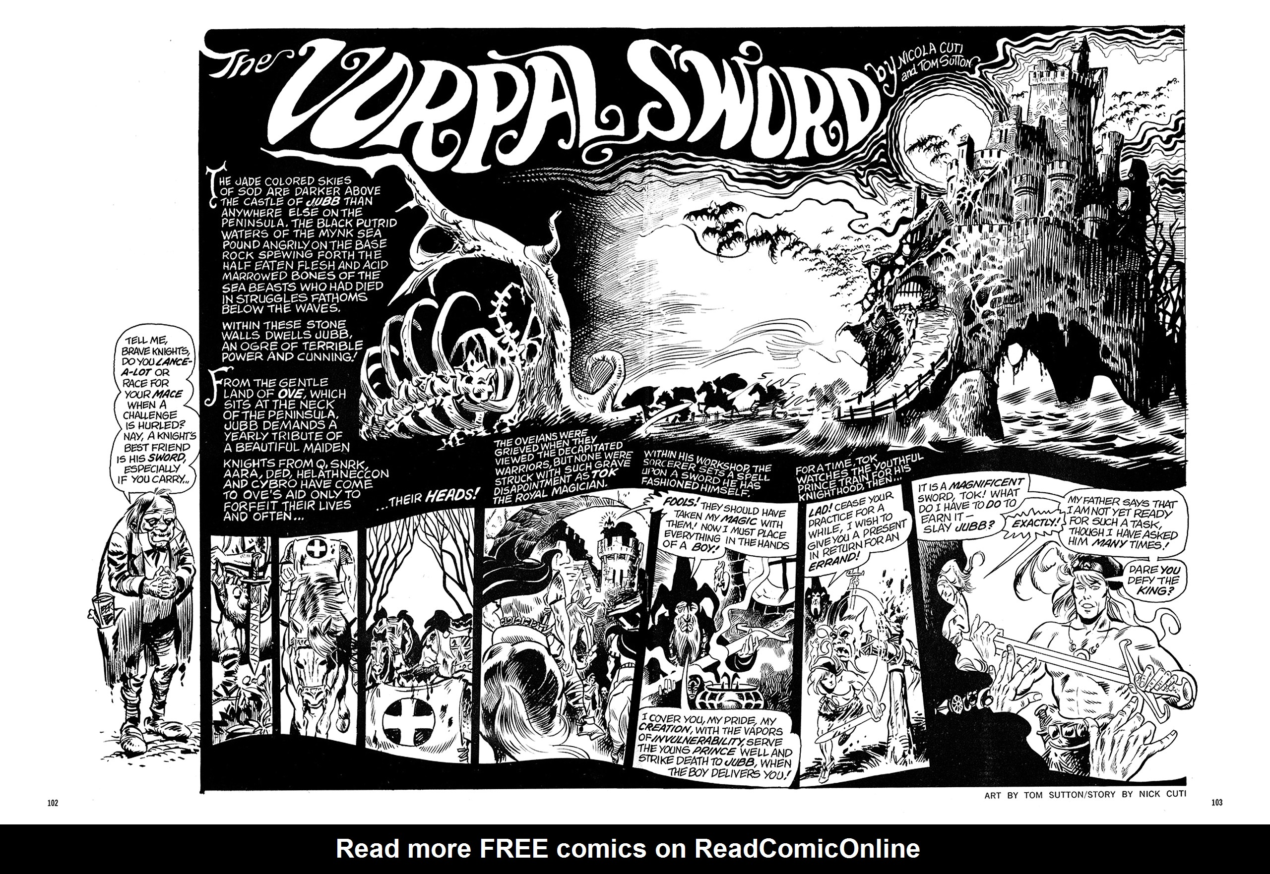 Read online Eerie Archives comic -  Issue # TPB 6 - 103