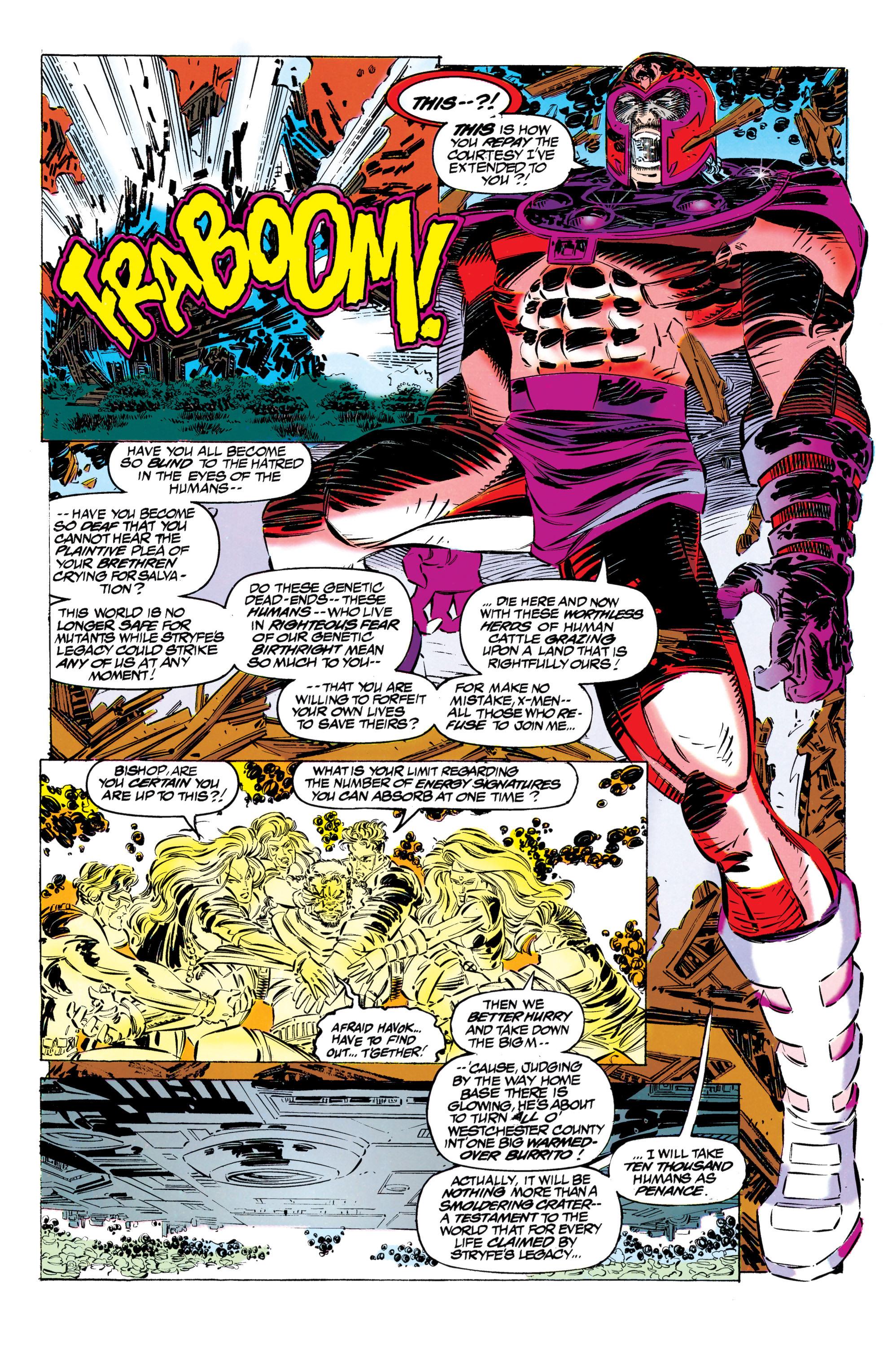 Read online Uncanny X-Men (1963) comic -  Issue #304 - 35
